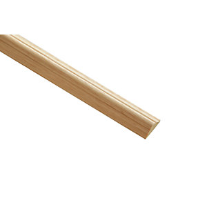 Wickes Light Hardwood Astragal Moulding 21 x 8 x 2400mm