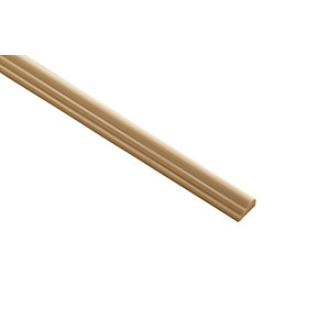 Wickes Pine Broken Ogee Moulding 15 x 8 x 2400mm