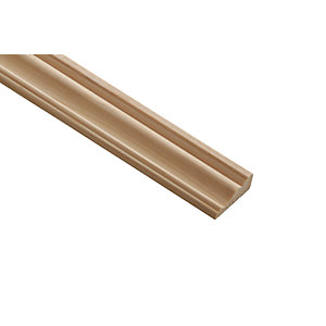 Wickes Pine Decorative Cover Moulding 31 x 12 x 2400mm