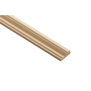 Wickes Pine Decorative Cover Moulding 12 x 32 x x 2400mm