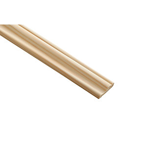 Wickes Pine Decorative Panel Moulding 9 x 28 x 2400mm