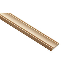 Wickes Pine Decorative Panel Moulding 30 x 8 x 2400mm