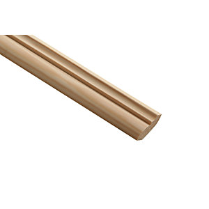 Wickes Pine Crown Moulding 34 x 12 x 2400mm