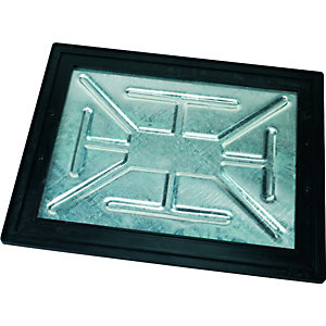Clark-Drain 5 Ton Internal Manhole Cover & Frame 450x600mm