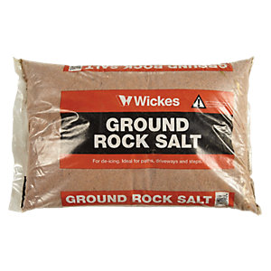 Wickes Rock Salt Major Bag 25kg