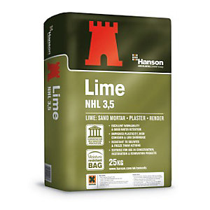 Hanson Natural Hydraulic Lime NHL 3.5 25Kg