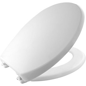 Carrara & Matta Toilet Seat & Cover Atlantic Spa Plastic White 108052000