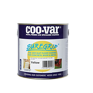Coo-var Suregrip Anti-slip Floor Paint Yellow 2.5L