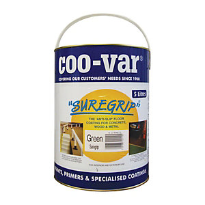 Coo-Var Suregrip Anti-Slip Floor Paint Green 5L