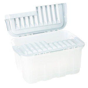 Wickes Storage Crate Inter-Locking Lid 49L
