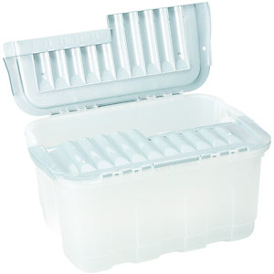 Wickes Storage Crate Inter-Locking Lid 27L