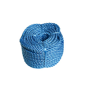 Wickes Blue 6mm Polypropylene Rope Length 30m
