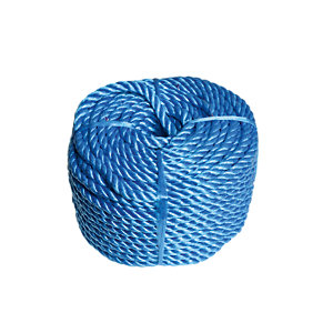Wickes Blue 8mm Polypropylene Rope Length 30m