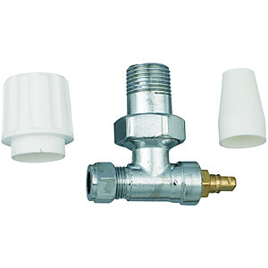 Wickes Radiator Valve 10mm Pack 2