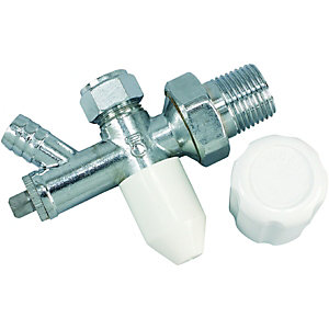 Wickes Drain Off Radiator Valve 10mm