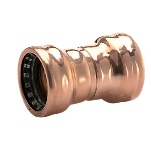 Wickes Copper Pushfit Coupler 22mm