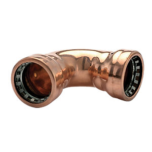 Wickes Copper Pushfit Elbow 22mm