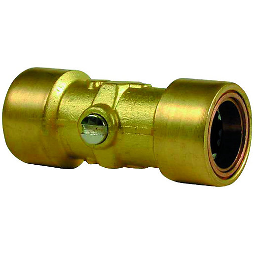 Wickes copper pushfit service valve mm pack