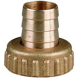 Wickes Union Garden Hose Nut & Tail