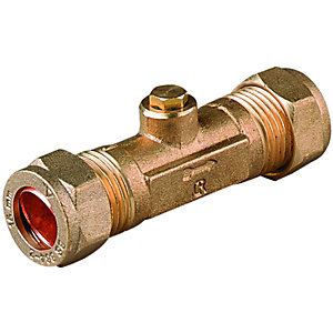 Wickes Brass Double Check Valve 15mm