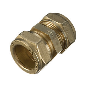 Wickes Compression Straight Coupler 22mm