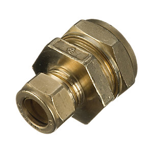 Wickes Compression Reducing Coupler 22 x 15mm