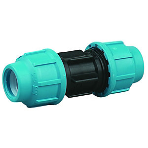Wickes MDPE Straight Connector 20x20mm