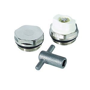 Wickes Radiator Key & Plugs