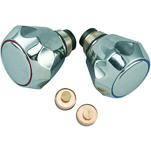 Wickes Chrome Sink & Basin Tap Conversion Kit