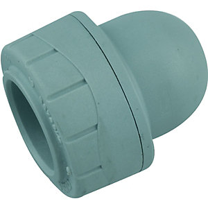 Wickes Polyplumb Socket End 15mm Pack 2