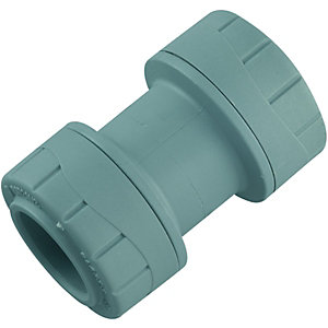 Wickes Polyplumb Straight Coupler 22mm