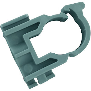 Wickes Polyplumb Close Pipe Clips 15mm (Pack of 15)