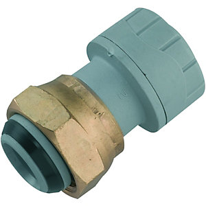 Wickes Polyplumb Tap Connector 15 x 19mm