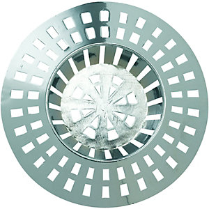 Wickes Sink & Bath Strainer Chrome