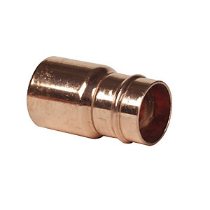 Reduced Coupler Cxc 22mm x 15mm with Integral Solder Ring