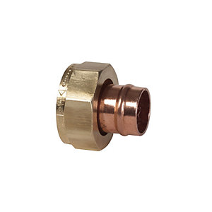 Conex TP62 Solder Ring Straight Tap Connector 15mm x 3/4in