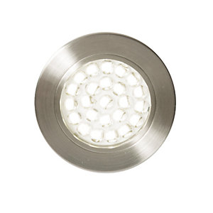 Culina Pozza LED Circular Recessed Cabinet Light-Mains powered