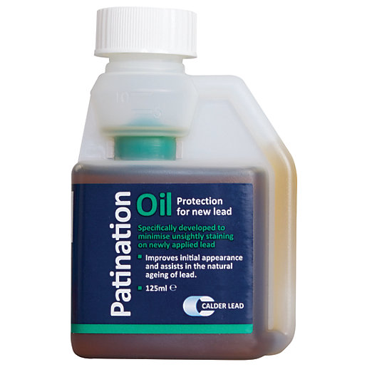 Calder Patination Oil For New Lead 125ml Wickes Co Uk