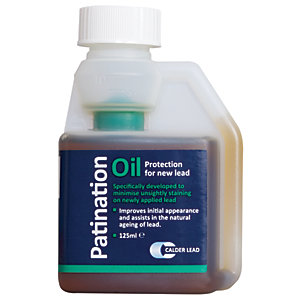 Wickes Patination Oil For New Lead 125ml