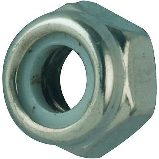 Nuts And Bolts Near Me >> Wickes Self Locking Nuts M10 Pack 6   Wickes.co.uk