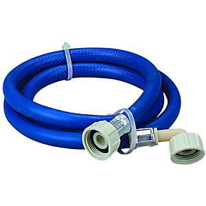 Wickes Washing Machine Hose Blue 2.5m