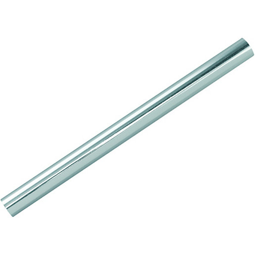 Wickes radiator pipe sleeves chrome 200mm pack 10 wickes for Poly sleeve for copper pipe