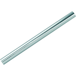 Wickes radiator pipe sleeves chrome 200mm pack 10 for Poly sleeve for copper pipe