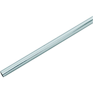 Wickes Radiator Pipe Snaps Chrome 1000mm Pack 3
