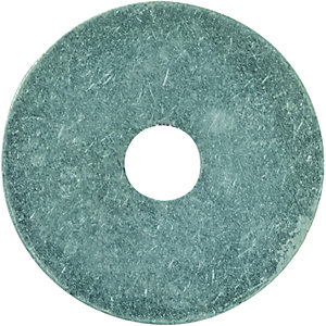 Wickes/Screws, Nails & Fixings/Nuts, Bolts & Washers/Wickes Round Washers M10x50mm Pack 6