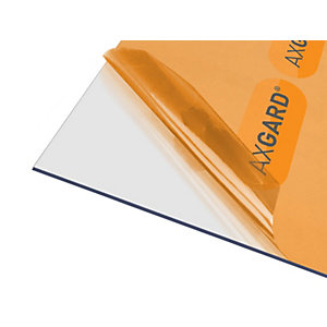 Clear Amber Axgard Clear 3mm Uv 500mm x 1000mm