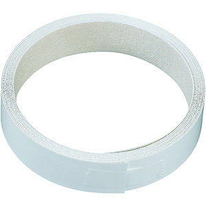 Wickes Iron On Edging Tape White 22x2500mm