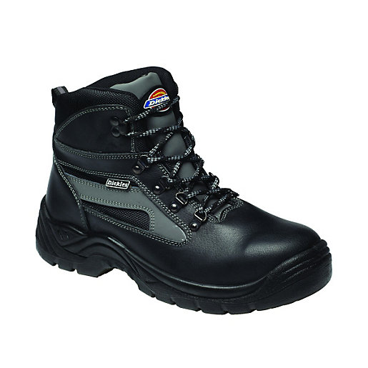 Dickies Severn Safety Boots Black Wickes Co Uk