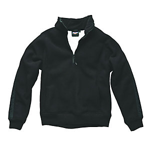 Eisenhower Pull Over Fleece Black