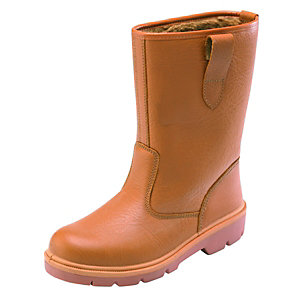 Dickies Rigger Safety Boots Tan